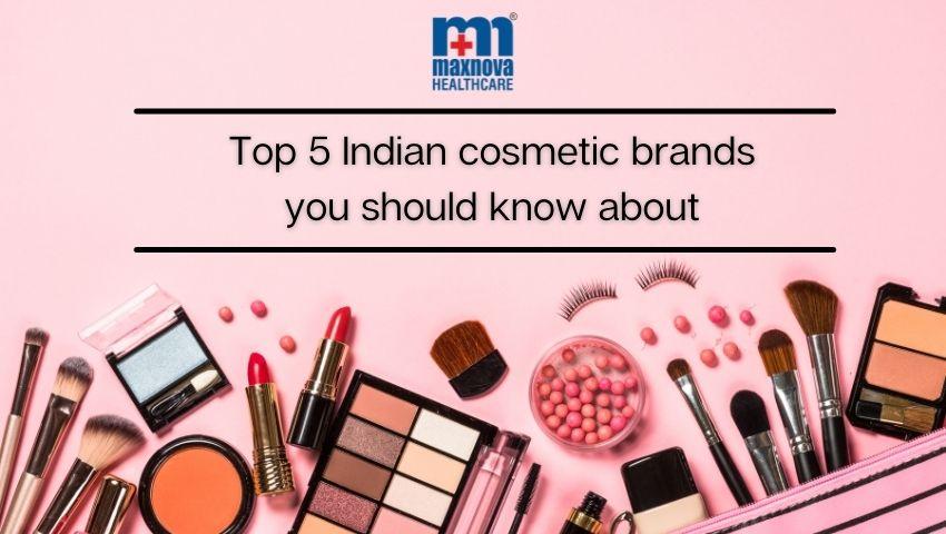 indian cosmetics brands